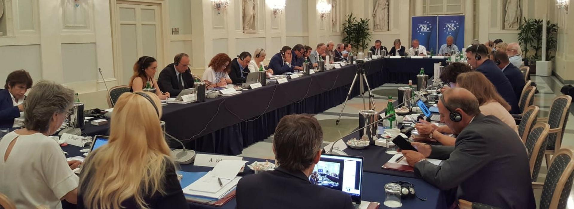Meeting della Presidenza PDE allargata – Roma 19/07/2018